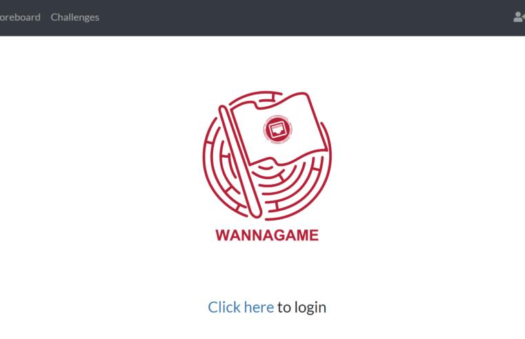 Hướng dẫn sử dụng nền tảng Wanna Game CTF